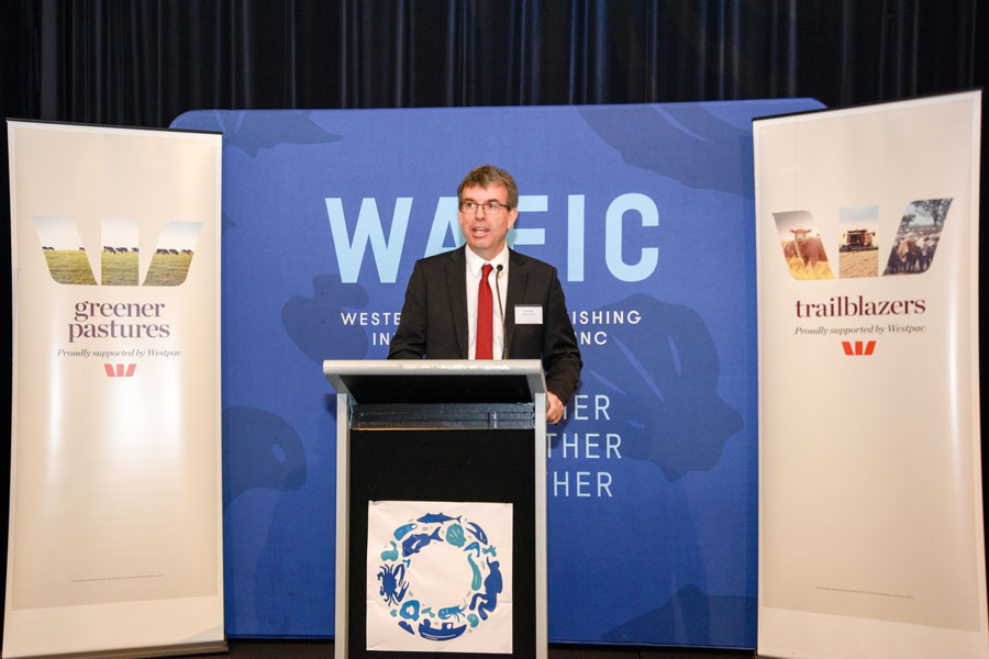 The Western Australian seafood industry achievements and excellence were officially opened by the Minister for Fisheries, the Hon. Dave Kelly MLA in front of 350 participants made up of industry, media, government and community.